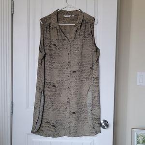 Reitmans long sleeveless tunic top